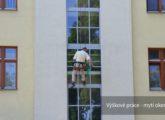 Úklid 24 s.r.o. - výškové práce - mytí oken